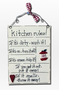 Practical advices and 16 kitchen rules