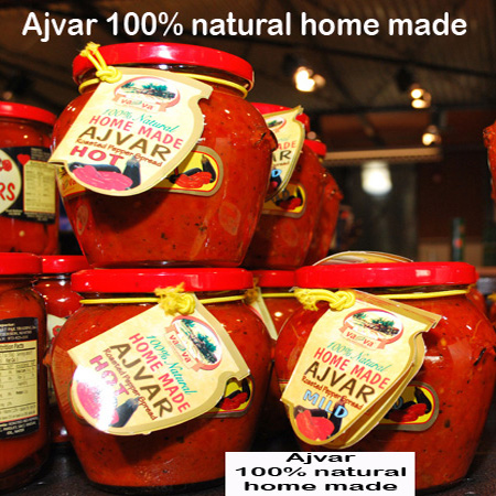 Ajvar (Natural home made-Made in Serbia)