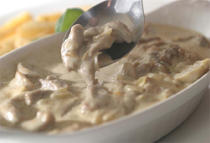 Mushroom Bechamel sauce
