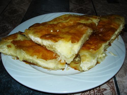 Cheese burek - Burek sa sirom