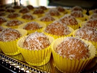 Chocolate balls (Čokoladne kuglice)