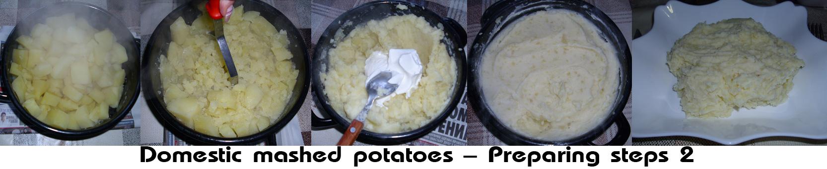 Domestic mashed potatoes (Domaći krompir pire)