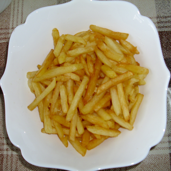 French fries with less oil (Prženi pomfrit sa manje ulja)
