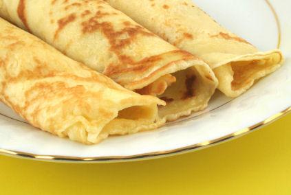 Primary dough for pancake (Palačinke)