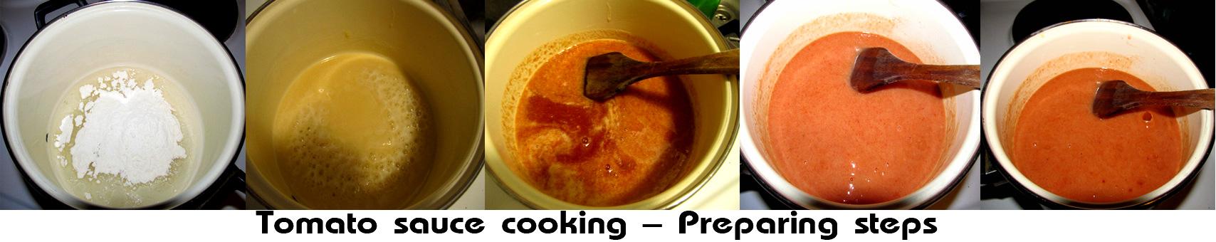 Rinfleisch - Tomato sauce cooking