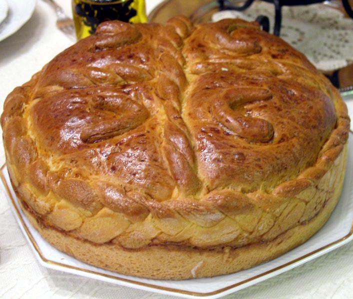 Serbian Christmas Bread (Česnica)