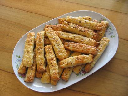 Salty sticks (Štanglice)