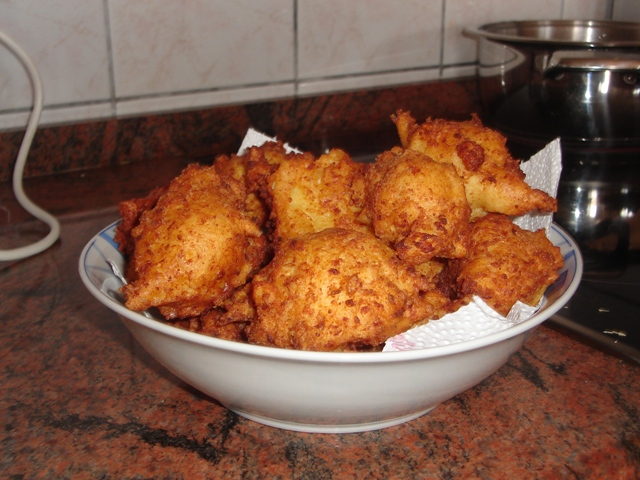 Fried dough (Uštipci)