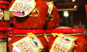 Ajvar – Serbian Roasted Red Pepper Sauce