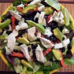 Chicken Salad with Kohlrabi