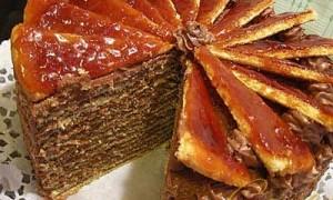Dobos Cake (Doboš torta)