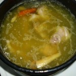 Domestic Sunday Chicken Soup
