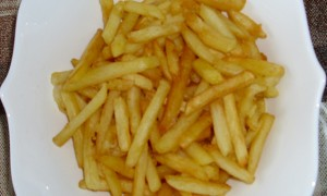 French Fries With Less Oil