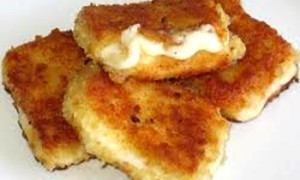 Fried Breaded Cheese