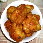 Fried Breaded Chicken Wings