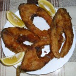 Fried Carp Fish Slices
