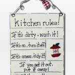 "Practical advices and 16 kitchen ""gold"" rules"